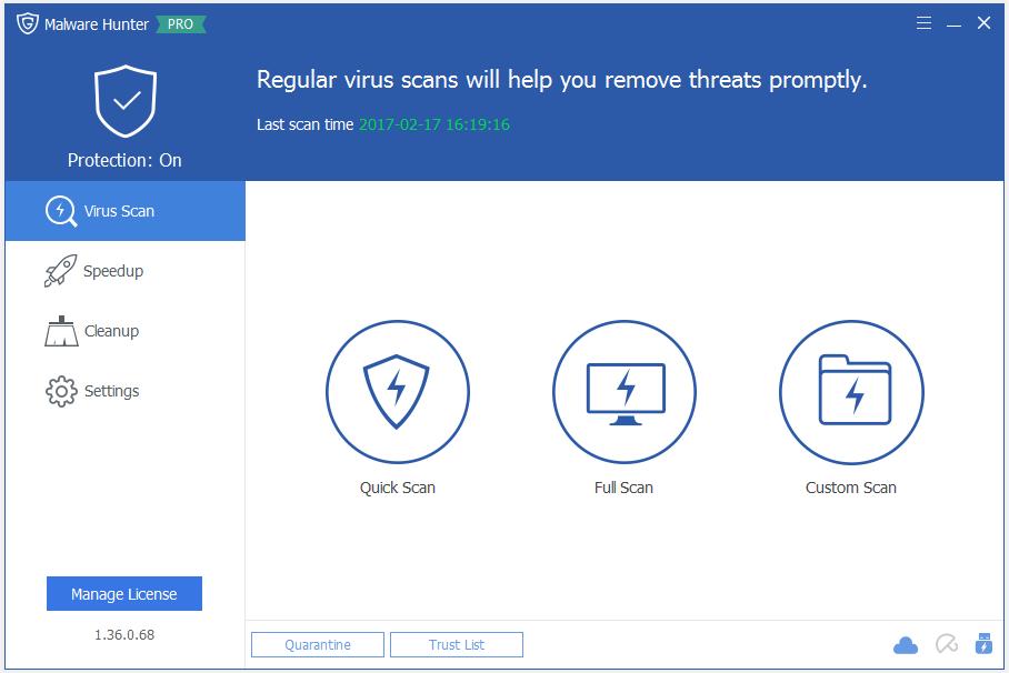 Key bản quyền phần mềm Malware Hunter Pro
