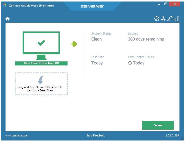 Key bản quyền Zemana antimalware Premium