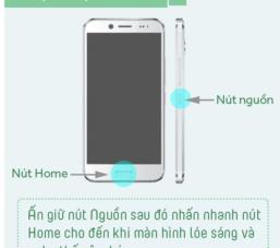 Chụp màn hình điện thoại smartphone như thế nào?