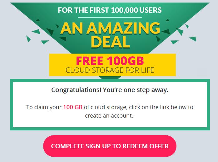 Nhận 100GB lưu trữ đám mây vĩnh viễn từ Zoolz Cloud