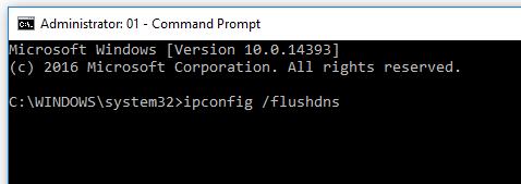 ipconfig-flushdns