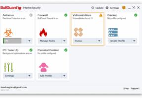 Miễn phí phần mềm diệt virus BullGuard Internet Security 2021