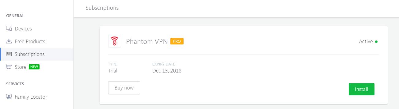 Phantom-VPN