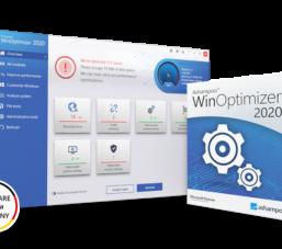 Miễn phí 1 năm phần mềm Ashampoo WinOptimizer 2021