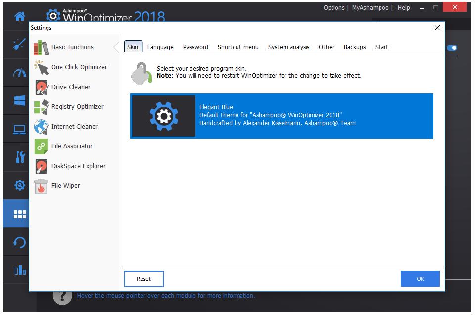 Cài đặt phần mềm Ashampoo WinOptimizer 2018