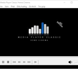 Tải về và cài đặt phần mềm nghe nhạc, xem phim MPC-HC