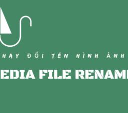 Media File Renamer – Plugin đổi tên ảnh hàng loạt cho WordPress