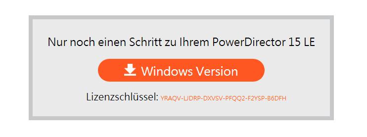 Key bản quyền phần mềmPowerDirector 15 LE