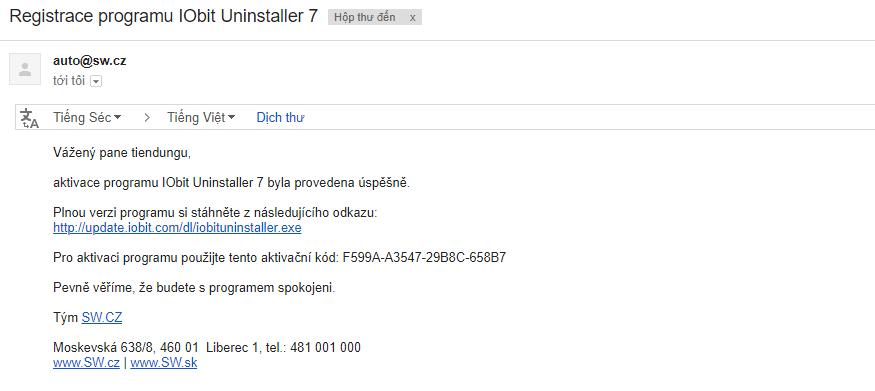 key phần mềm IObit Uninstaller
