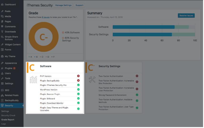 Plugin bảo mật cho WordPress iThemes Security Pro 5.0 có sự lột xác