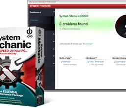 Miễn phí 6 tháng phần mềm chăm sóc máy tính Iolo System Mechanic 17