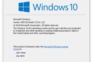 Một số cách để xem phiên bản Windows mà bạn đang sử dụng