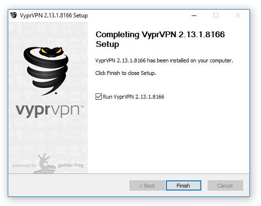 Cài đặt phần mềm VyprVPN 3