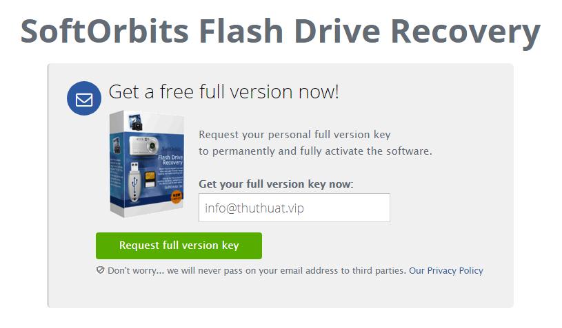 Miễn phí phần mềm khôi phục dữ liệu usb