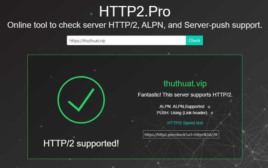 giao thức kết nối http/2
