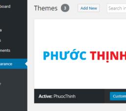 Dự án – Website song ngữ (Anh – Việt) cho doanh nghiệp