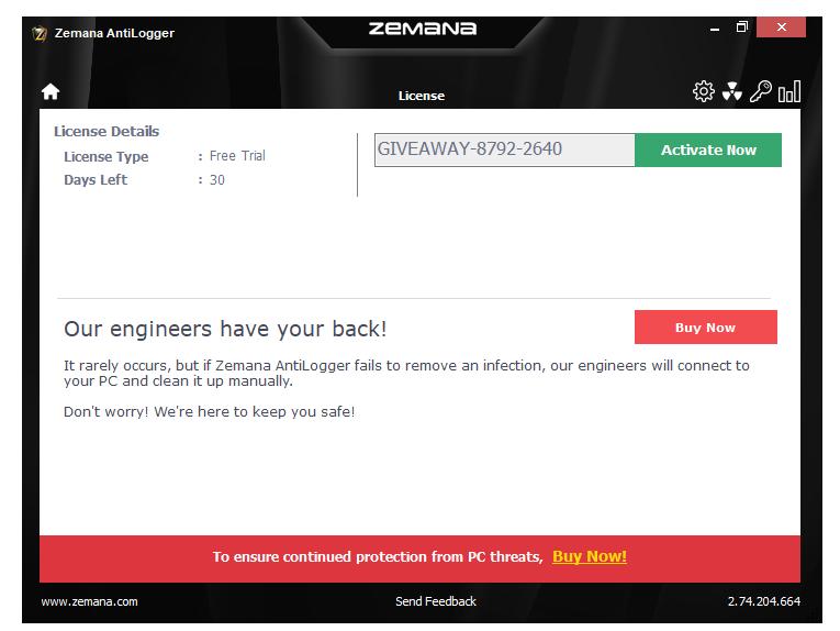 Phần mềm zemana antilogger premium