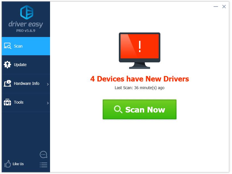 Phần mềm driver easy