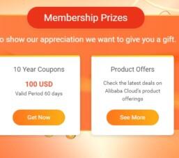 Alibaba Cloud tặng 100$ nhân kỷ niệm 10 năm ra mắt dịch vụ