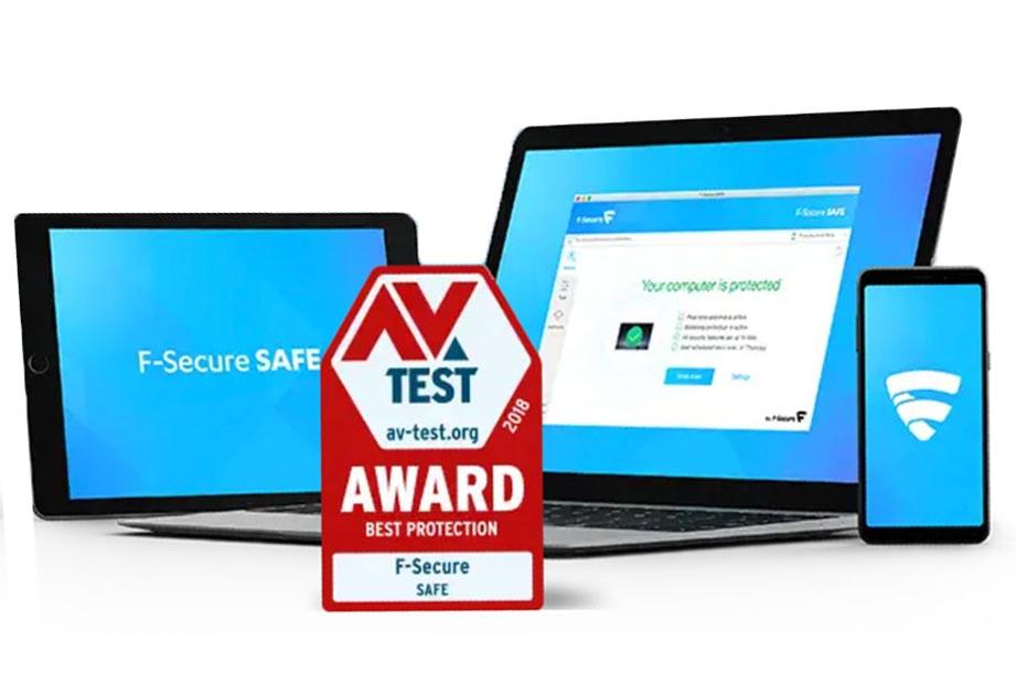 Miễn phí phần mềm diệt virus F-Secure SAFE Internet Security 2020