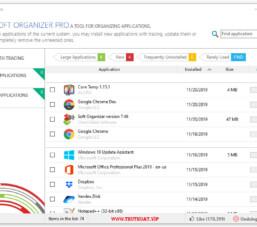 Phần mềm gỡ bỏ ứng dụng Windows với Soft Organizer Pro