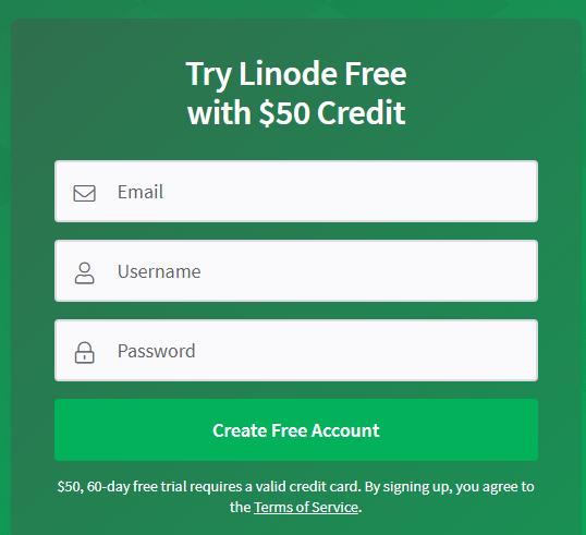 50$ Từ Linode