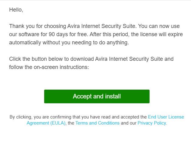 Cài đặt Avira Internet Security Suite