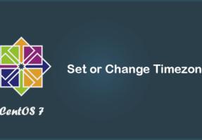 Hướng dẫn thay đổi giờ trên VPS (Timezone trên CentOS)