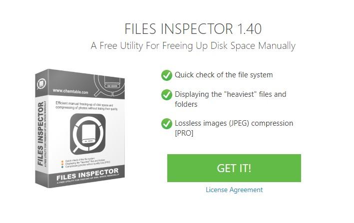 Xem dung lượng file, folder trên Windows với Files Inspector Pro