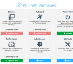 Abelssoft PC Fresh 2020 – Phần mềm chăm sóc tối ưu máy tính