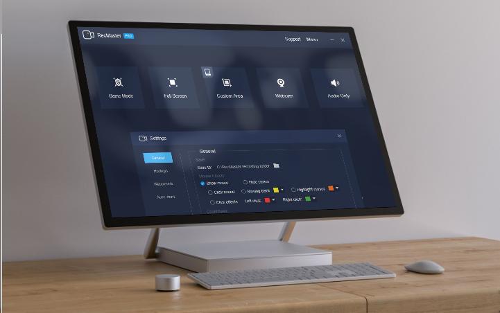 Miễn phí trình ghi màn hình chuyên nghiệp – RecMaster Pro