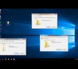 Mở khóa và xóa các file, các tập tin và thư mục không cho xóa