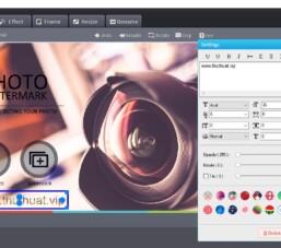 Đóng dấu bản quyền vào hình ảnh với WonderFox Photo Watermark