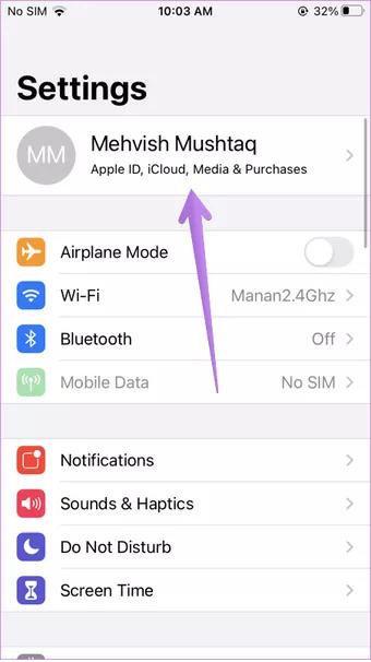 Cách đồng bộ danh bạ từ iPhone sang iPhone