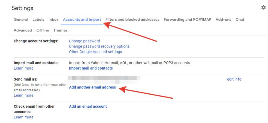 cách chuyển tiếp email trong gmail