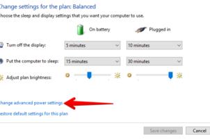 Fix lỗi Laptop không hiện thông báo khi gần hết PIN