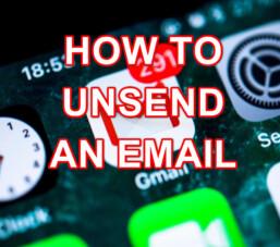 Hướng dẫn cách thu hồi một email đã gửi
