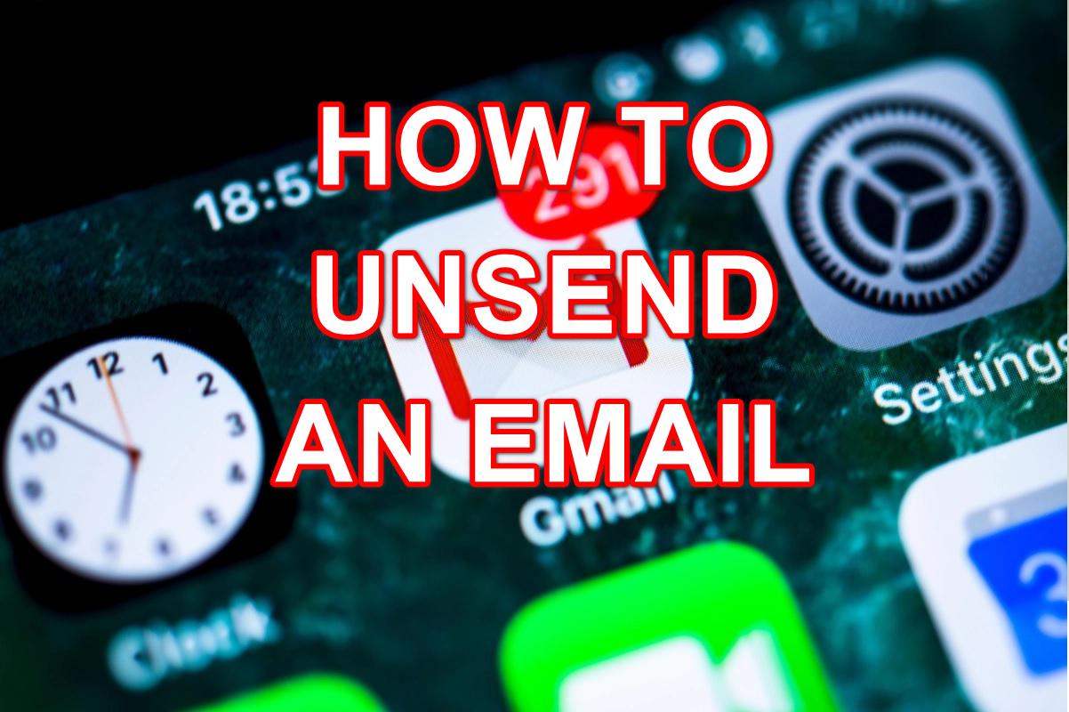 Hướng dẫn cách thu hồi email đã gửi đi