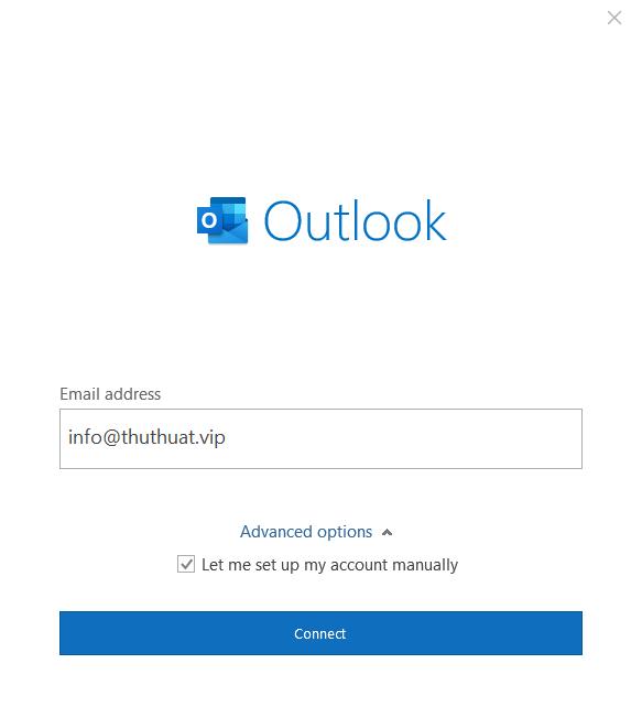 Kết Nối Outlook 2019