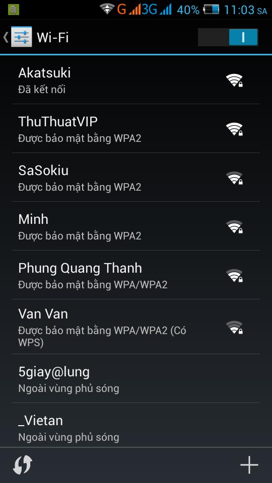 Ket Noi Wifi Endroid
