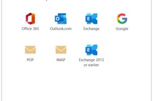 Cổng kết nối POP và IMAP của Gmail, iCloud, Microsoft 365, Hotmail cho Outlook