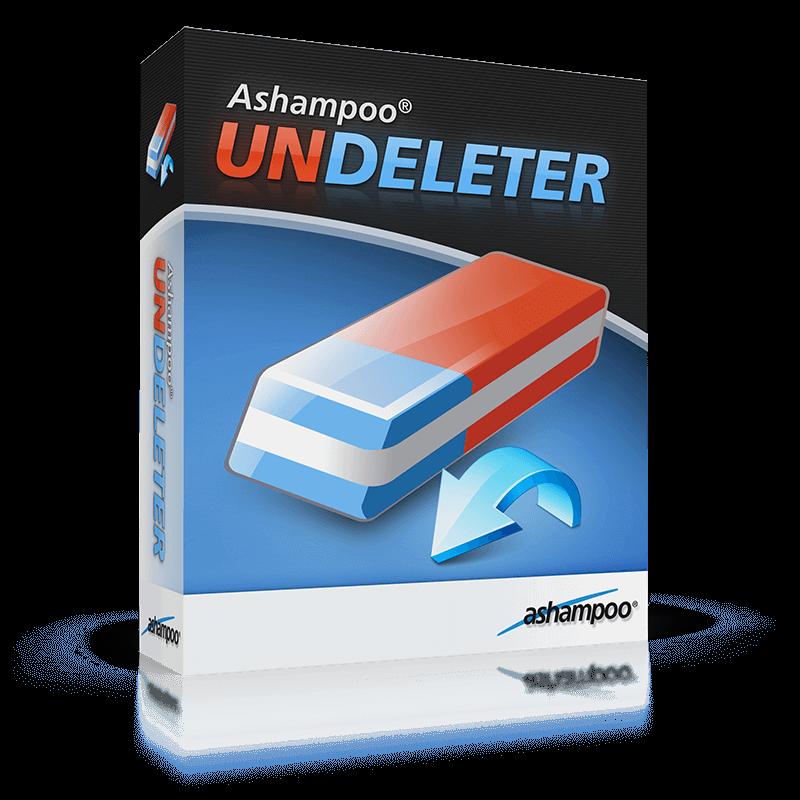 Miễn phí phần mềm khôi phục dữ liệu – Ashampoo®Undeleter