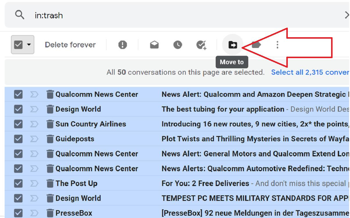 cách dọn dẹp hộp thư đến Gmail