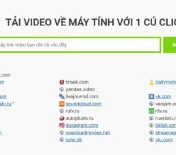 Tải Video Về Máy Tính