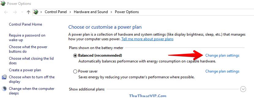 thay doi power setting