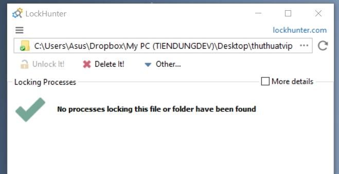 Xóa Các File Windows Không Cho Xóa