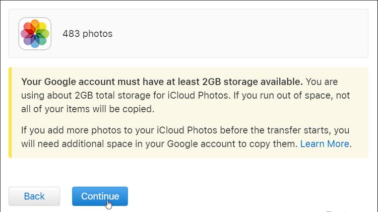 Cách đồng bộ ảnh từ iCloud sang Google Photos