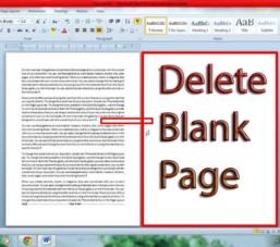 Hướng dẫn 3 cách xóa trang trống trong Word