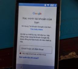 Cách mở khóa điện thoại khi quên tài khoản Google thành công 100%
