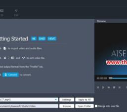 Phần mềm chuyển đổi định dạng video Aiseesoft 4K Converter